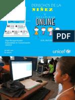 Seguridad de la niñez en línea y derechos de la niñez