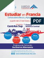 Programa Becas Francia