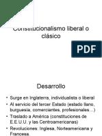 Constitucionalismo Liberal o Clásico Guatemala