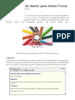 Activar Herramienta de Diseño Para Adobe Forms