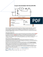 Caricabatteria Per Accumulatori Ni-CD Ed Ni-MH