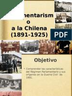 El Parlamentarismo a La Chilena