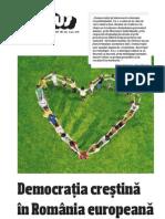 Creştin-Democraţia în România 2010 (Teodor Baconschi & co)