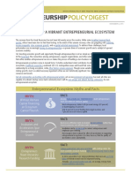 Entrepreneurship Policy Digest