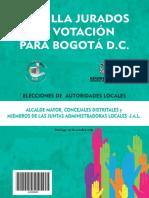 Cartilla de Jurados BOGOTA 2015