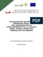 Adolescentes Mujeres y Sistema Penal