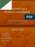 Anatomi Gigi Anterior Desidui RA Dan RB