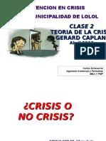 Modelo de Integración en Crisis Clase 2