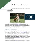 Calendario de Desparasitación de Un Cachorro