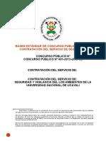 Bases en El Seace Servicio de Seguridad y Vigilancia de La Unu Cp 001-2013