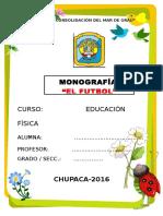 Monografia- El Futbol- 19 de Abril