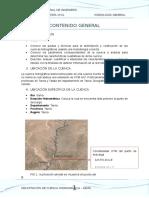 parametros de la cuenca cajamarca