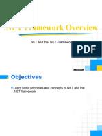 NET Framework Overview