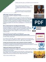 Instituciones y Organizaciones Que Impulsan La Integracion Economica en Centroamerica
