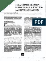 geologia contaminacion ambiental