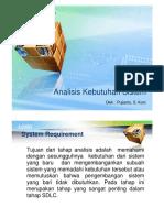 Analisis Kebutuhan Sistem II