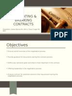 negotiating   breaking contracts final