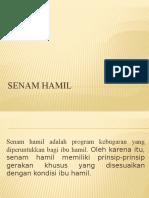 PP Senam Hamil