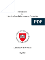 Local Government Structures for Limerick 13 April 10 Version 18