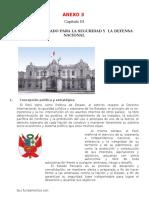Política de Estado Para La Seguridad y La Defensa Nacional