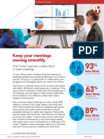 Keep your meetings moving smoothly with Intel Unite