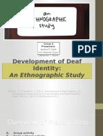 an ethnography study