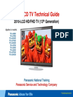 Panasonic L32C22 2010 LCD Training Guide