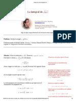 Integral de Raíz de Tangente de x