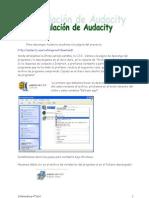 Instalación Audacity Wiki