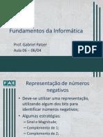 Fundamentos da Informatica - Aula 06