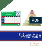 5X6 Social Media Revenue Matrix
