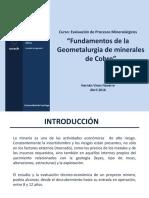 7. Fundamentos Geometalurgia