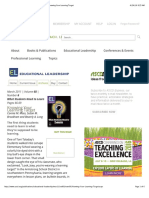 educational leadership what students need to learn knowing your learning target