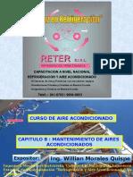 8.- Mantenimiento de Aires Acondicionados Reter Perú