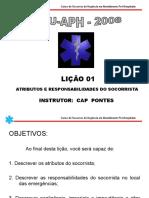 Capítulo 1 - Csu-Aph 2008