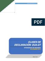 Clases de Declaración DUA 19112015