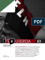 Revista Izquierda 63