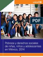 """""""Pobreza y derechos sociales de niñas, niños y adolescentes en México"""""""