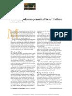 Decompensated Heart Failure