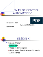 Sistemas de Control Automatico