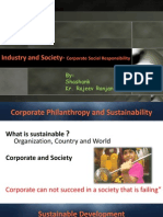 Coorporate Social Responsibility