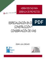 HERRAMIENTAS PARA GERENCIA DE PROYECTOS