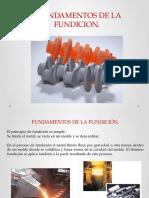 UNIDAD II Fundamentos de La Fundición