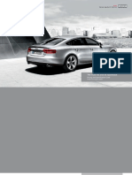 A5 Sportback car specification