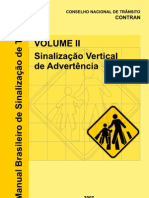 Manual Sinalização de advertência