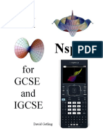 TI-Inspire for IGCSE