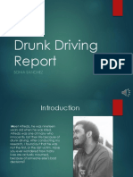 drunk driving report-revised