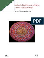 Coomaraswamy-Sobre La Psicología Tradicional e India (1)