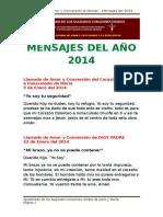 Mensajes 2014