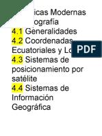 Unidad IV Topografia